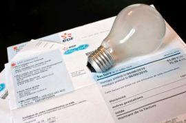facture et ampoule