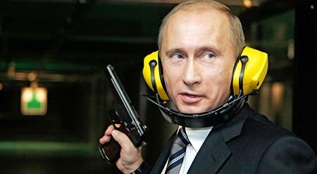 Vladimir Poutine armé