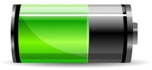 jauge de batterie de smartphone