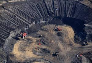 Exploitation de sables bitumineux en Alberta (photo J. Rezac / Greenpeace)
